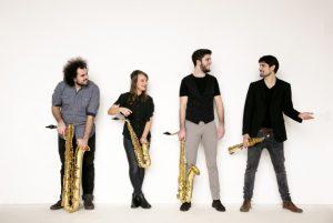 Arcis Quartett, Foto: Harald Hoffmann